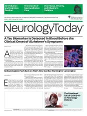 April 1, 2021 Neurology Today Cover