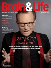 April 2020 Brain & Life Cover