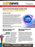 Cover of AANnews October 2021