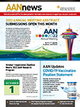 September 2021 Cover of AANnews