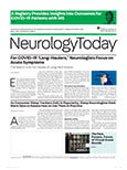 May 6, 2021 Issue of Neurology Today