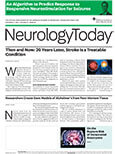 October 21, 2021 Issue of Neurology Today